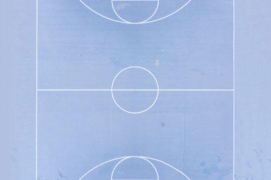 Sportwissenschaften | Basketballfeld von oben