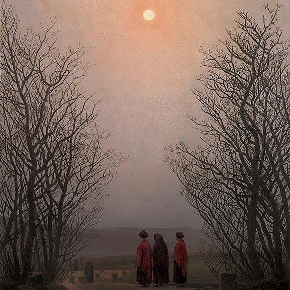 Caspar David Friedrich: Ostermorgen, um 1835